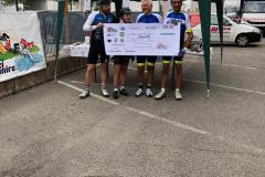 premiazione in bici per unire 11