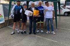 premiazione in bici per unire 13