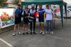 premiazione in bici per unire 14