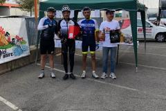 premiazione in bici per unire 15