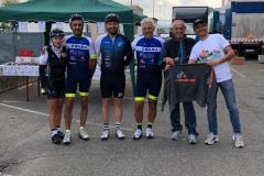 premiazione in bici per unire 17