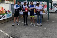 premiazione in bici per unire 2