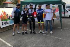 premiazione in bici per unire 3