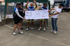 premiazione in bici per unire 5