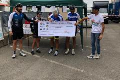 premiazione in bici per unire 6