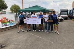 premiazione in bici per unire 8