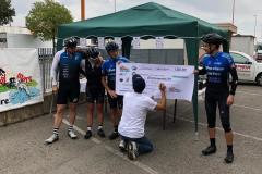 premiazione in bici per unire 9